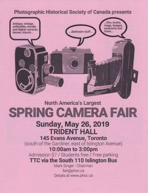 PHSC Spring Photographica Fair @ Toronto, Ontario {JPEG}