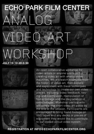 Analog Video Art Workshop - 19 Juillet 2014 {JPEG}