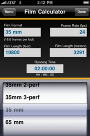 05 - Kodak Android Apps - Film Calculator - 1