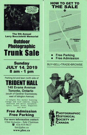 Outdoor Photographic Trunk Sale @ Toronto, Ontario {JPEG}